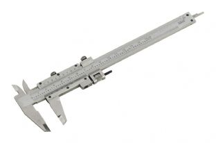 "Sealey AK962 Vernier Caliper 150mm (6"") (0.02mm - 1/1000"" Acc)"